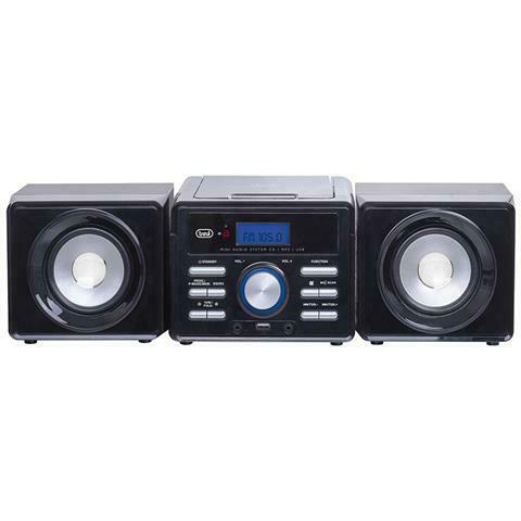 Mini sistema hifi trevi hcx ,stereo compatto dalle
