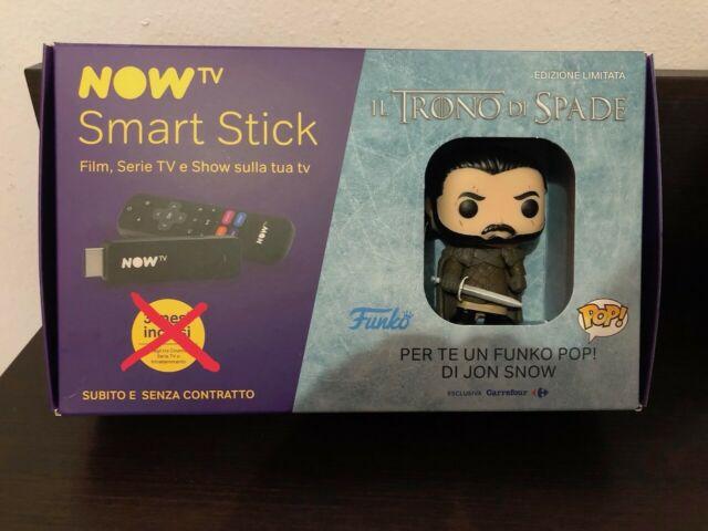 NowTv Smart Stick + Jon Snow Game Of Trone