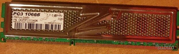 RAM varie DDR2 DDR3 1x2GB 1x1GB 2x1GB