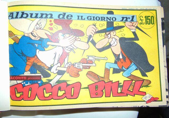 Album de il giorno 1-8 serie completa jacovitti cocco bill