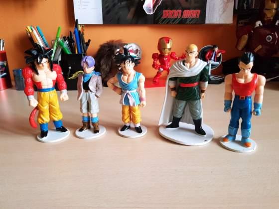 Lotto personaggi Dragon Ball Gt Deagostini