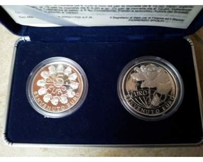 Monete da 5 e 10 euro  S.Marino