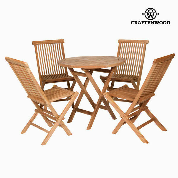 Tavolo con 4 sedie craftenwood