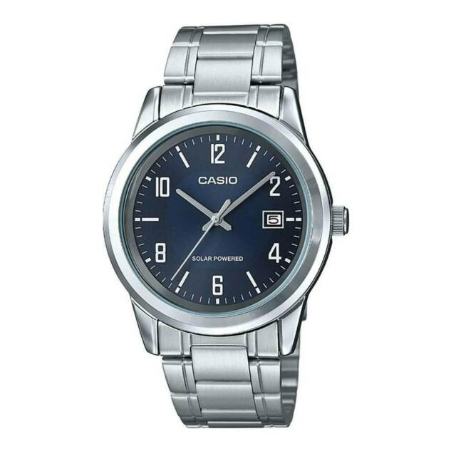 Casio mtp-vs01d-2b orologio uomo al quarzo