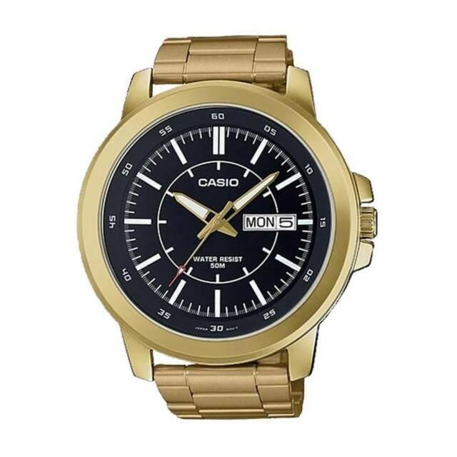 Casio mtp-x100g-1e orologio uomo al quarzo