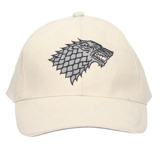 Gw jm game of thrones stark - cappellino regolabile -