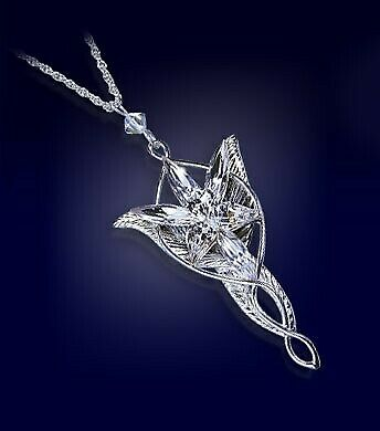 Gw jm lord of the rings pendant arwen's evenstar