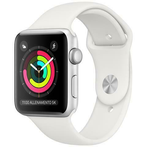 Applewatch 3 38mm gps silver white sport band
