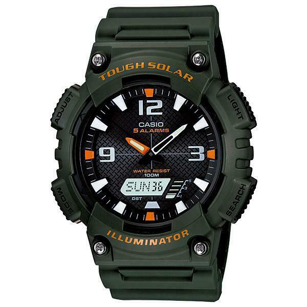 Casio aq-s810w-3avdf orologio uomo al quarzo