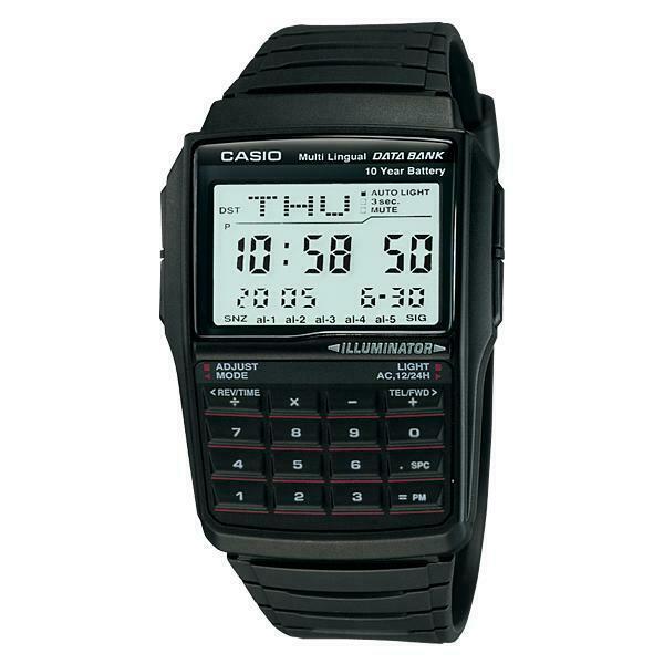 Casio calculator dbc-32-1adf orologio uomo al quarzo