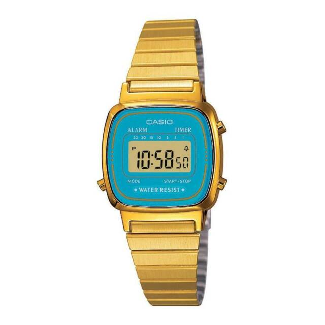 Casio la670wga-2df-no-box orologio donna al quarzo