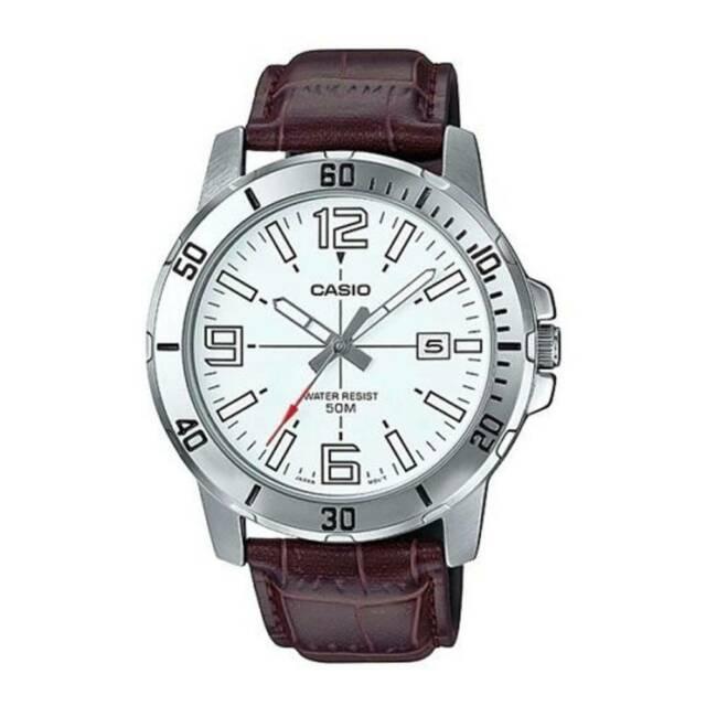 Casio mtp-vd01l-7b orologio uomo al quarzo