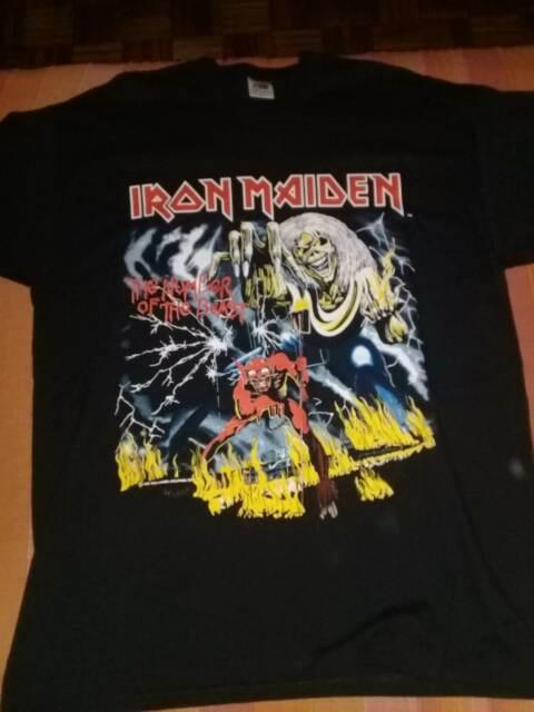 Iron maiden t shirts magliette originali tours