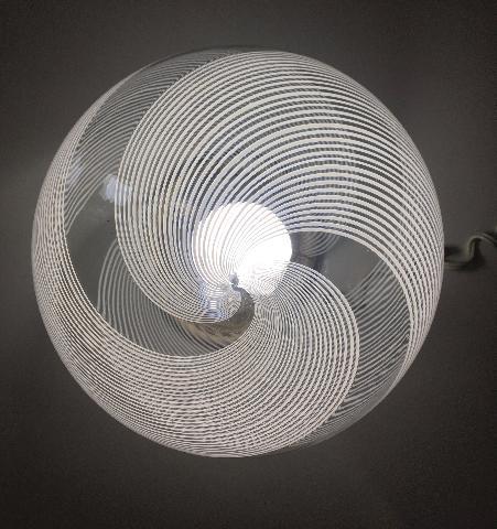 LAMPADA IN VETRO SOFFIATO DESIGN VINTAG
