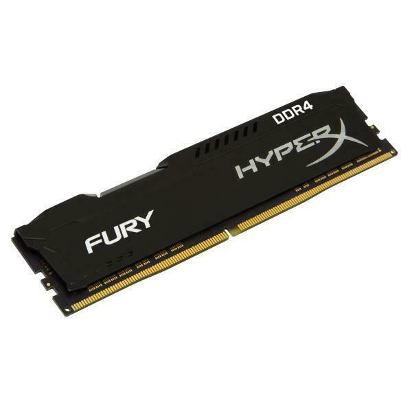 Memoria ram gaming hyperx - fury - ddr4 - 4 gb - dimm