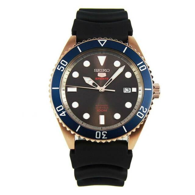 Seiko 5 srpb96k1 orologio uomo meccanico automatico
