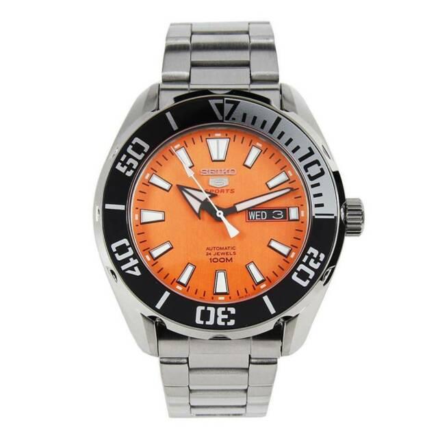 Seiko 5 srpc55k1 orologio uomo meccanico automatico