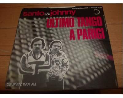 Disco 45 giri SANTO & JOHNNY