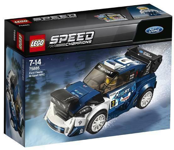 Gw jm lego  - speed champions ford fiesta