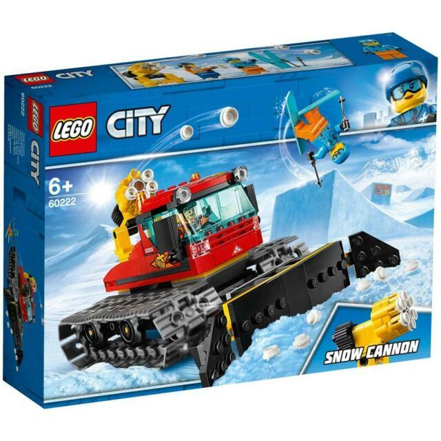 Include 2 minifigure lego city: uno sciatore e il conducente