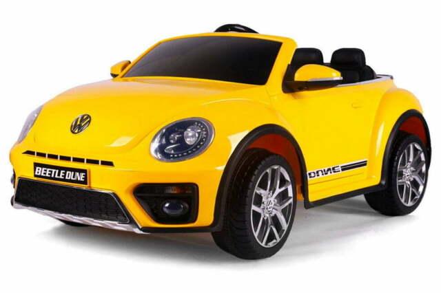 Macchina Elettrica Per Bambini 12v Volkswagen Maggiolino New