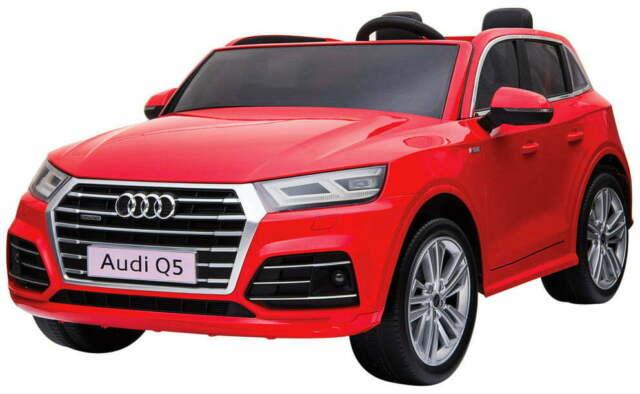 Macchina Elettrica Per Bambini 2 Posti 12v Mp4 Audi Q5