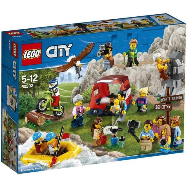 Popola la tua lego® city con questo divertente people pack