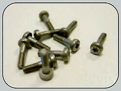 Torx t6 metric screws 1.8 x 8 mm. (10 pcs.)