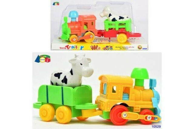 Gw jm baby treno c/mucca ass.r/c  - spedizione