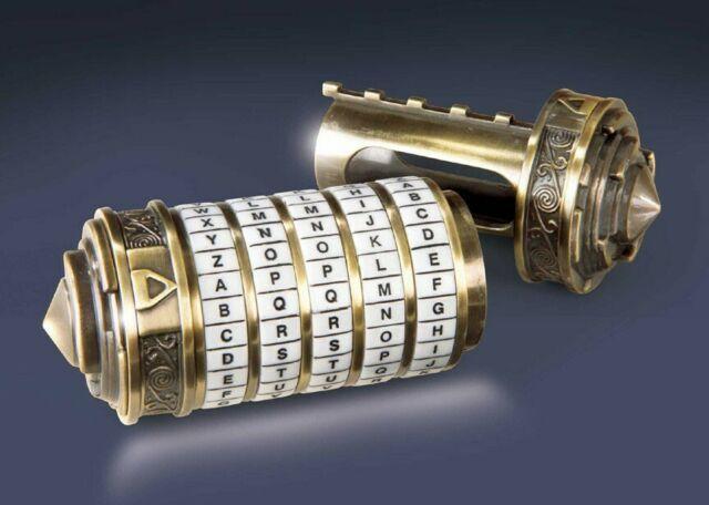 Gw jm da vinci code replica 1/1 cryptex - spedizione