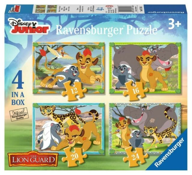 Gw jm puzzle 4in1 the lion guard - spedizione in 5/10