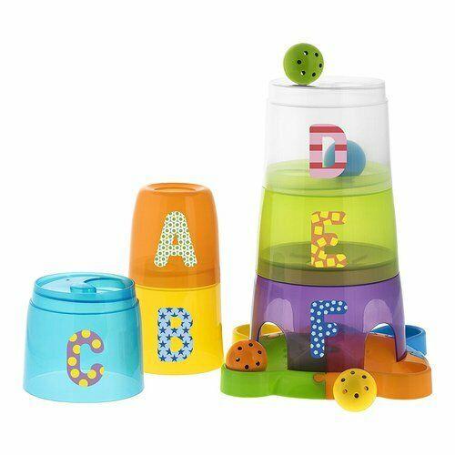 Impila le sei tazze dalla più grande alla più piccola e