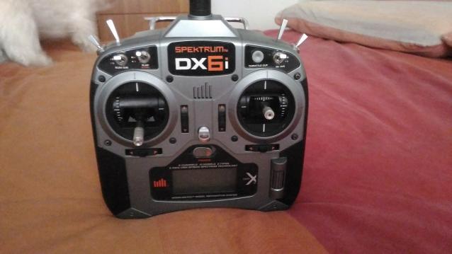 Radio spektrum dx6i + simulatore fhoenix