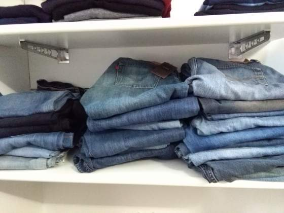 Stock 160 jeans uomo donna