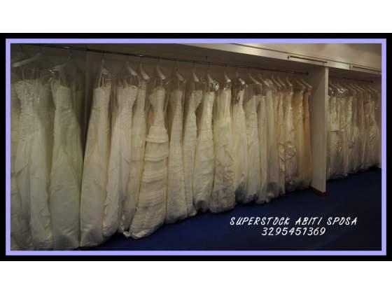 Stock abiti sposa  made italy