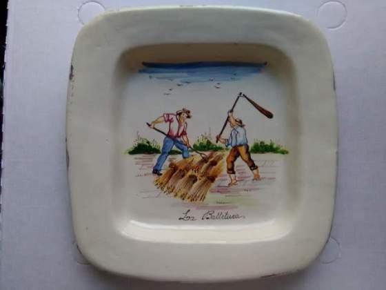 Ceramica maiolica dipinta a mano di Grottaglie prima metà