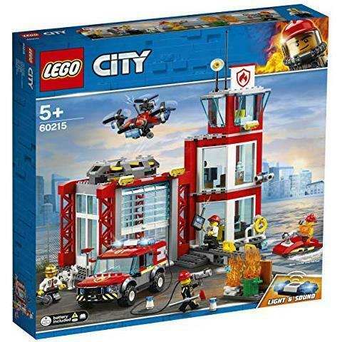 Lego - costruzioni caserma dei pompieri city