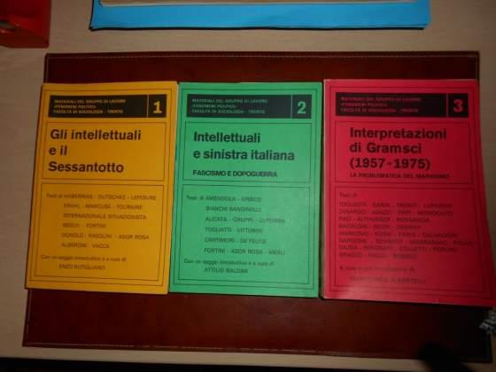 """3 Libri:Materiali del gruppo di lavoro """"Fenomeni politici"""""""