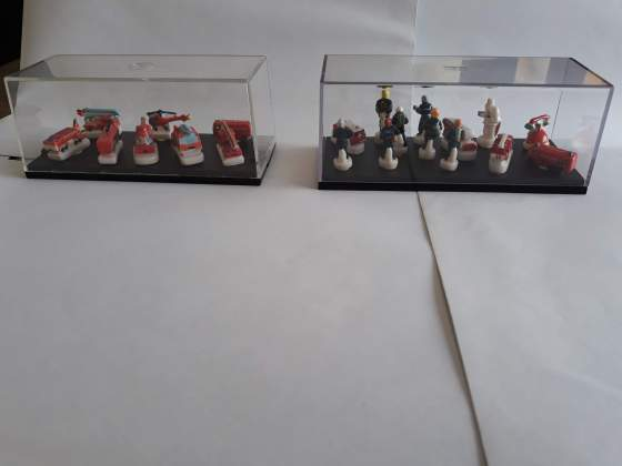 Collezione completaSapeurs Pompiers in ceramica dipinta a