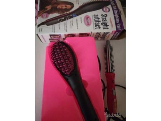 2 spazzole elettriche liscianti