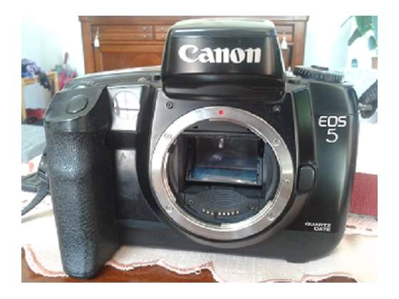 CANON EOS 5 REFLEX + vari acc.ri