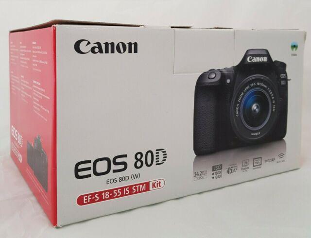 Canon EOS 80D con obiettivo IS STM
