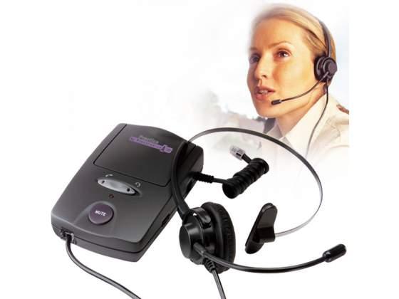 Cuffia Telefonica con adattatore per telefoni fissi