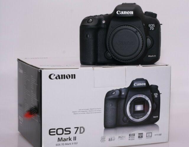 Fotocamera digitale reflex canon eos 7d mark 2.