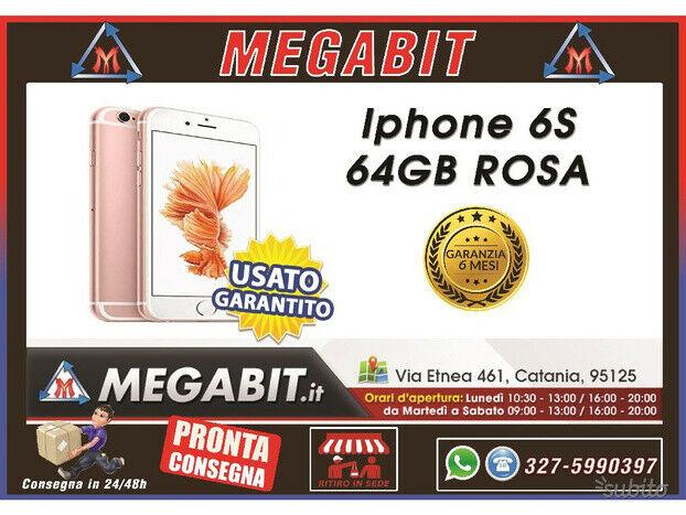 Iphone 6s 64gb rosa con garanzia