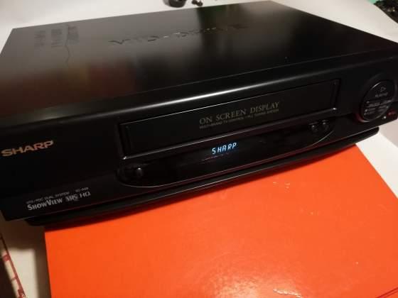SHARP VC-A49 VCR - Video registratore - Vintage revisionato