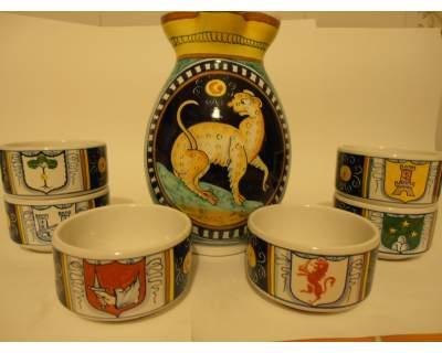 Ceramica di Faenza Gotti. Nott dè Bisò. S.Completa