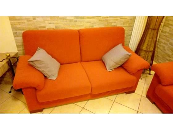 Coppia divani in alcantara