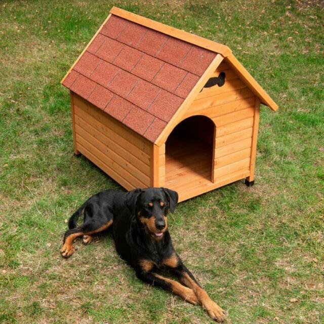 Cuccia in legno per cani NUOVA misura L 65 x P 88 x H 76 cm