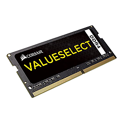 Memoria ram corsair - value select - ddr4 - 4 gb - so dimm